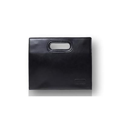 [ルビタス] セカンド バッグ クラッチ ハンド バック 通勤 通学 鞄 小さめ a4 b4 a5 b5 サイズ (黒 02)