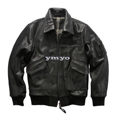 本革ジャケット メンズ ライダースジャケット レザージャケット バイクジャケット フライトジャケット ジャケット 高級牛革