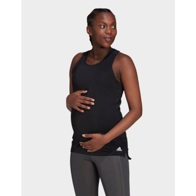 アディダス adidas レディース タンクトップ マタニティウェア トップス aeroready designed 2 move sport tank top (maternity)