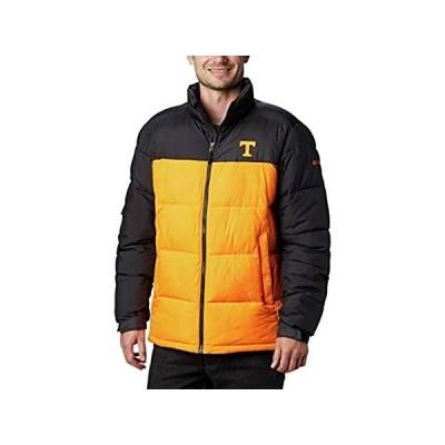 NCAA テネシー ボランティアーズ メンズ 大学 パイクレイクジャケット XL UT - ブラック/ソラライズ