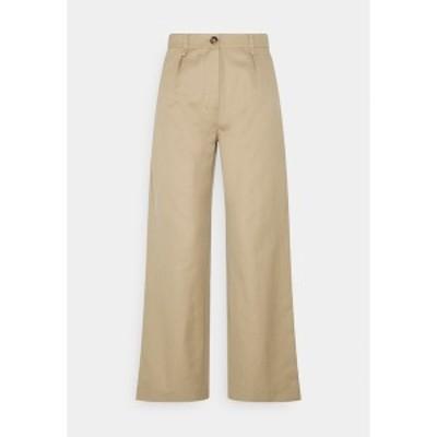 アーケット レディース カジュアルパンツ ボトムス Trousers - beige beige