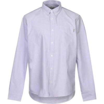 カーハート CARHARTT メンズ シャツ トップス solid color shirt Lilac