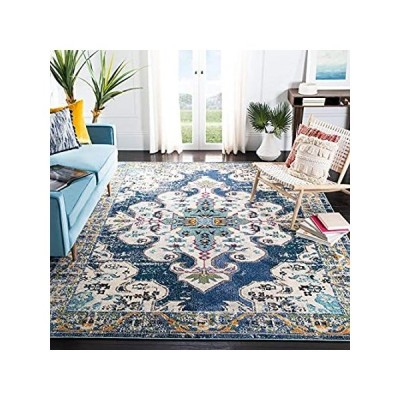 Safavieh Madison Collection MAD452M Boho Chic Medallion Distressed Non-Shed