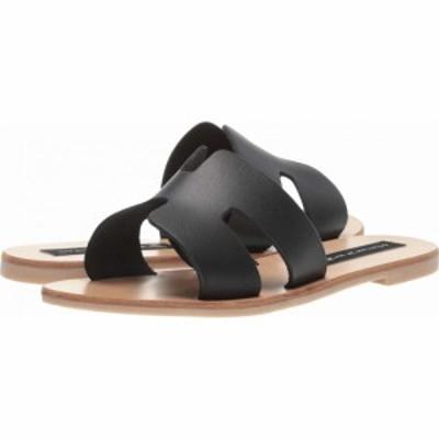 スティーブン ニューヨーク STEVEN NEW YORK レディース サンダル・ミュール シューズ・靴 Greece Sandal Black Leather