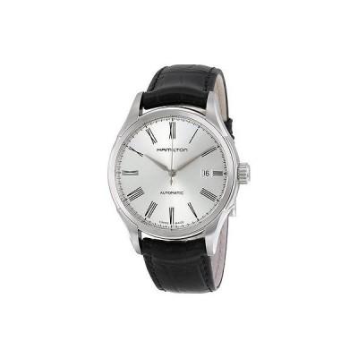 ハミルトン 腕時計 Hamilton Valiant シルバー ダイヤル レザー ストラップ メンズ 腕時計 H39515754