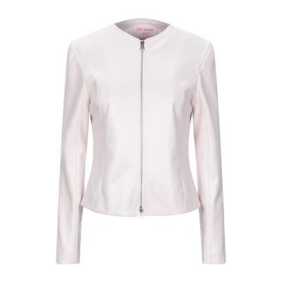 PINK AMBER テーラードジャケット ライトピンク L ポリエステル 100% テーラードジャケット