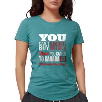 レディース 衣類 トップス CafePress - Go To Canada T Shirt - Womens Tri-blend T-Shirt グラフィックティー