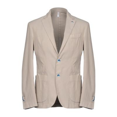 DOMENICO TAGLIENTE テーラードジャケット サンド 46 コットン 82% / ポリエステル 15% / ポリウレタン 3% テーラ