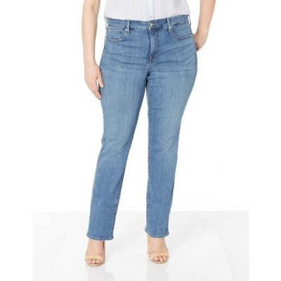 エヌ ワイ ディー ジェー レディース パンツ Plus Size Marilyn Straight in Rhodes