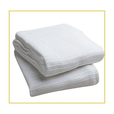 【☆送料無料☆新品・未使用品☆】Head2Toe 100%コットン 病院用保温毛布 オープンウィーブコットンブラ