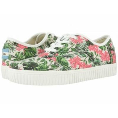 TOMS トムス レディース 女性用 シューズ 靴 スニーカー 運動靴 Cordones Indio Multi Floral【送料無料】