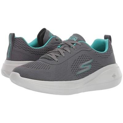 スケッチャーズ Go Run Fast レディース スニーカー シューズ 靴 Charcoal/Turquoise