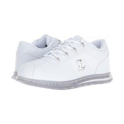 Lugz ラグズ メンズ 男性用 シューズ 靴 スニーカー 運動靴 Zrocs Ice - White/Clear