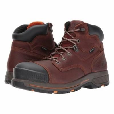 ティンバーランド Timberland PRO メンズ ブーツ シューズ・靴 helix 6 hd composite safety toe waterproof br Tempest Full Grain Leat