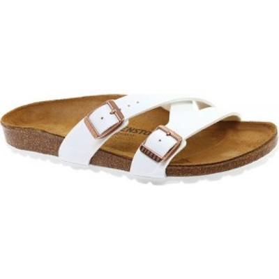 ビルケンシュトック Birkenstock レディース サンダル・ミュール シューズ・靴 Yao Birko-Flor Slide White Birko Flor