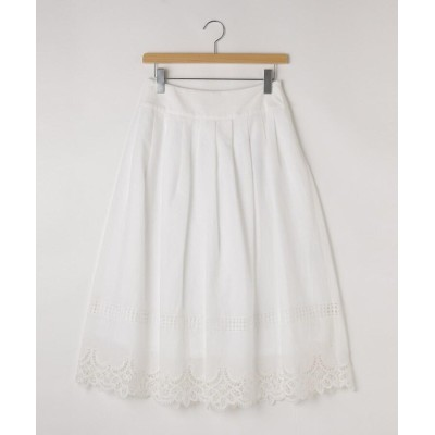 OFF PRICE STORE(Women)(オフプライスストア(ウィメン)) NATURAL BEAUTY裾レースロングスカート