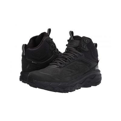 Hoka One One ホカオネオネ メンズ 男性用 シューズ 靴 スニーカー 運動靴 Challenger Mid GORE-TEX(R) - Black