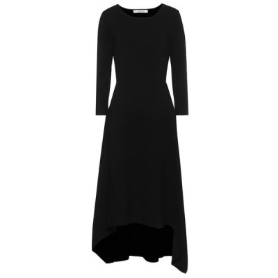 ドロシー シューマッハ Dorothee Schumacher レディース ワンピース ミドル丈 ワンピース・ドレス sleek sophistication knit midi dress Pure Black