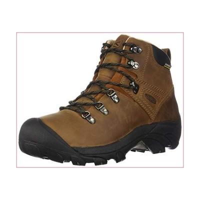 KEEN womens Pyrenees Mid Height Waterproof Hiking Shoe, Syrup, 8.5 US(並行輸入品)
