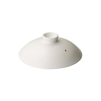 (業務用・鉄鍋・アルミ鍋)鉄製鍋 20cm蓋 ホワイト (入数:1)