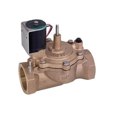 CKD 自動散水制御機器 電磁弁 RSV−20A−210K−P 1台 (メーカー直送)
