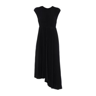 エムエスジーエム MSGM 7分丈ワンピース・ドレス ブラック 38 ポリエステル 98% / ポリウレタン 2% 7分丈ワンピース・ドレス