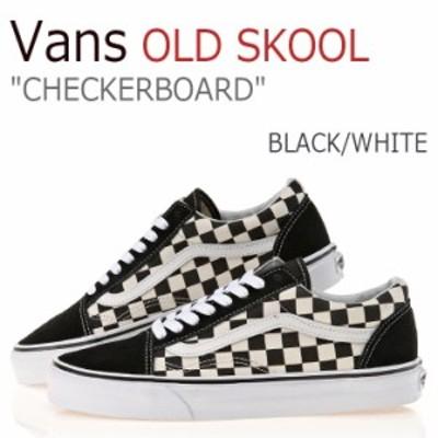 バンズ オールドスクール スニーカー Vans メンズ レディース OLD SKOOL チェッカーボード プライマリー ブラック VN0A38G1P0S シューズ