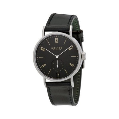 腕時計 ノモス Nomos Tangomat Ruthenium Datum Deep ブラック ダイヤル メンズ 腕時計 604