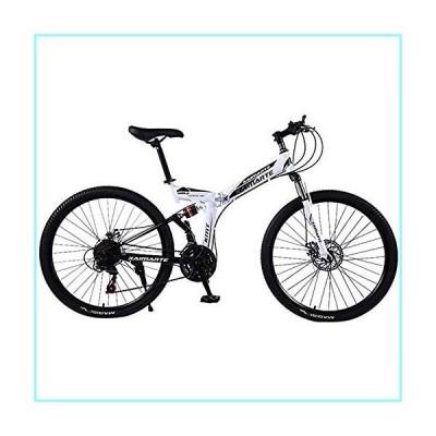 Bike Bike Bicycle Outdoor Cycling Fitness Portable Bicycle,24/26 inch Mountain Bike Boys Girls Small Mini Folding Bike Lightweight Portable Bicycle 21
