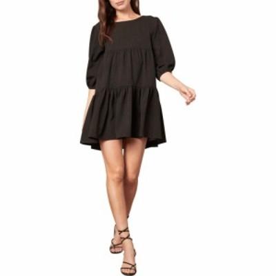 ビービーダコタ BB Dakota レディース ワンピース ワンピース・ドレス Brocade the Rules Dress Black