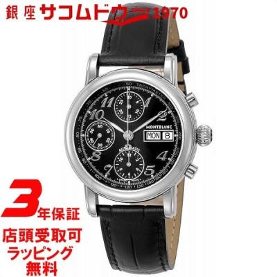 モンブラン Montblanc ウォッチ 腕時計 スター 38mm クロノグラフ 自動巻き メンズ 8451 MONTBLANC ブラック [並行輸入品]