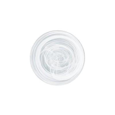 水墨 21センチプレート 白