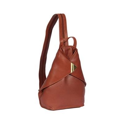 Womens Leather BACKPACK Rucksack Hiking Walking Travel Sports Gym Bag BROWN HOL258 並行輸入品