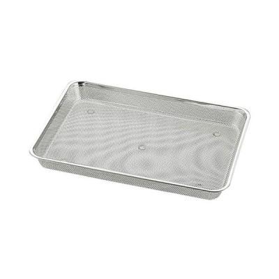 ストック 仕込み 厨房用品 / UK 18-8パンチ浅角バット キャビネ (単品商品となります)寸法:208 x 168 x H30mm