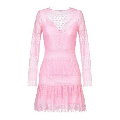 ゲス GUESS ミニワンピース&ドレス ピンク S ナイロン 91% / ポリウレタン 9% ミニワンピース&ドレス
