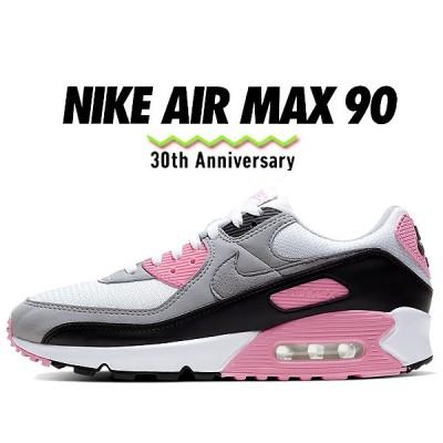 ナイキ エアマックス 90 30周年 NIKE AIR MAX 90 30th ANNIVERSARY white/particle grey-rose-black cd0881-101 スニーカー AM90 ピンク