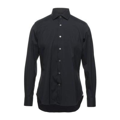 MASTAI FERRETTI シャツ ブラック 40 コットン 75% / ナイロン 21% / ポリウレタン 4% シャツ