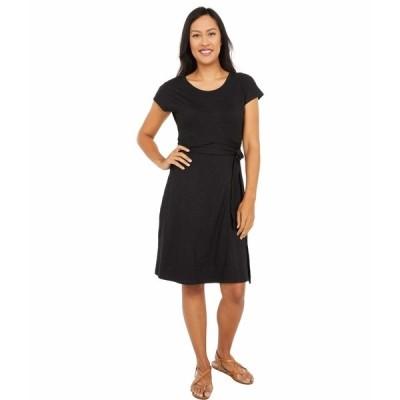 ドード アンドコー ワンピース トップス レディース Cue Wrap Short Sleeve Dress Black