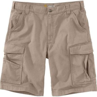 カーハート Carhartt メンズ ショートパンツ カーゴ ボトムス・パンツ Rugged Flex Rigby Cargo 11 Inch Short Tan