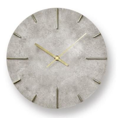 【受注確定後2〜4週間でお届け致します】掛け時計 Quaint / 斑紋純銀色 レムノス 壁掛け時計