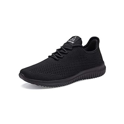 YDB Men's Running Shoes Ultra Lightweight Breathable Walking Shoes Non Slip