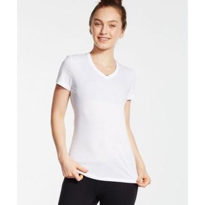 ユニセックス 衣類 トップス Soffe Junior's Short Sleeve Core V-Neck Tee グラフィックティー
