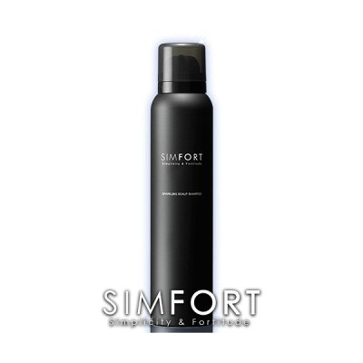 【送料無料】SIMFORT(シンフォート)スパークリングスカルプシャンプー[1本](150g)炭酸濃度8,000ppm!