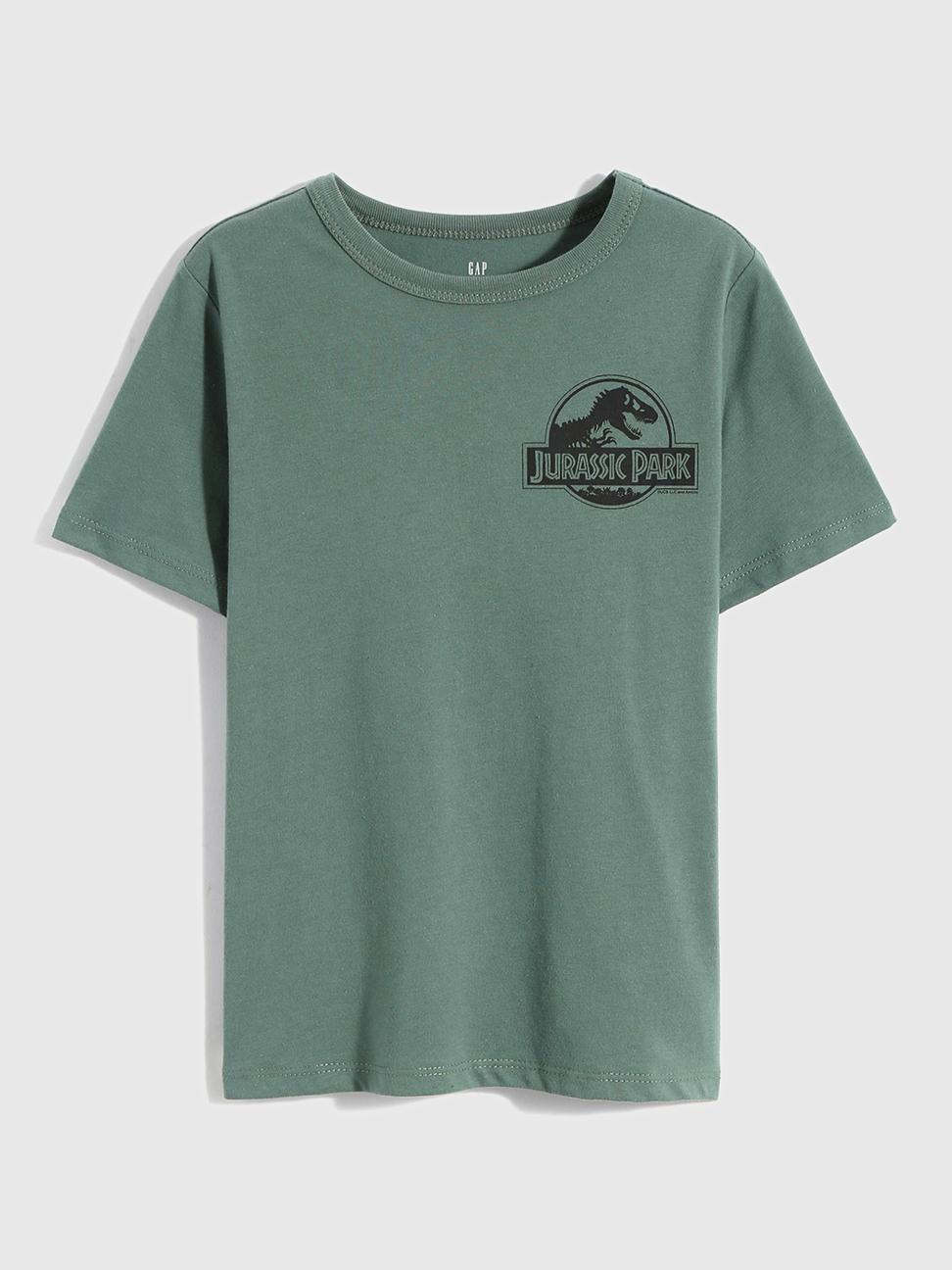 男童 Gap x 侏儸紀公園系列短袖T恤