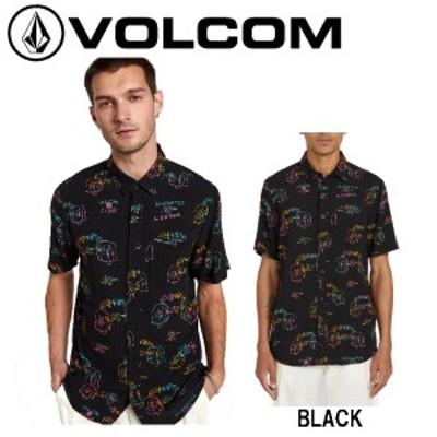 【VOLCOM】ボルコム 2020春夏 ALIENATED S/S メンズ シャツ 半袖 Ozzy Wrong スケートボード サーフィン