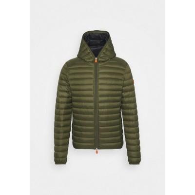 セーブザダック ジャケット&ブルゾン メンズ アウター DONALD HOODED JACKET - Light jacket - dusty olive