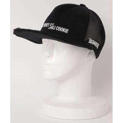 ROYAL FLASH / BLACK HONEY CHILI COOKIE/ブラックハニーチリクッキー/EMBROIDERY Baseball CAP MEN 帽子 > キャップ
