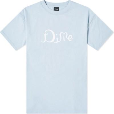 ダイム Dime メンズ Tシャツ トップス Ritzy Tee Clear Blue
