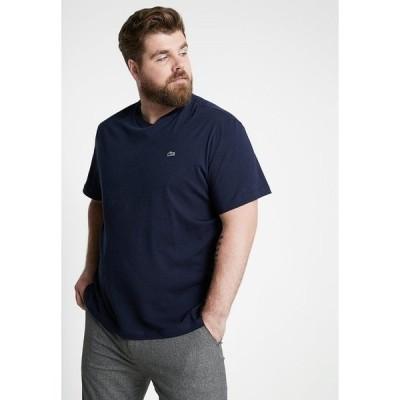 ラコステ Tシャツ メンズ トップス Basic T-shirt - marine