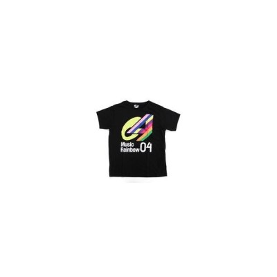 中古Tシャツ(女性アイドル) Tシャツ ブラック Lサイズ 「LAWSON premium event Music Rainbo